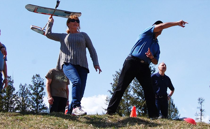 eagle glider construction challenge team building hero