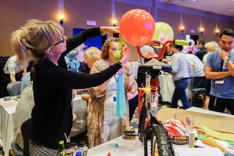 metrie testimonial charity bike build