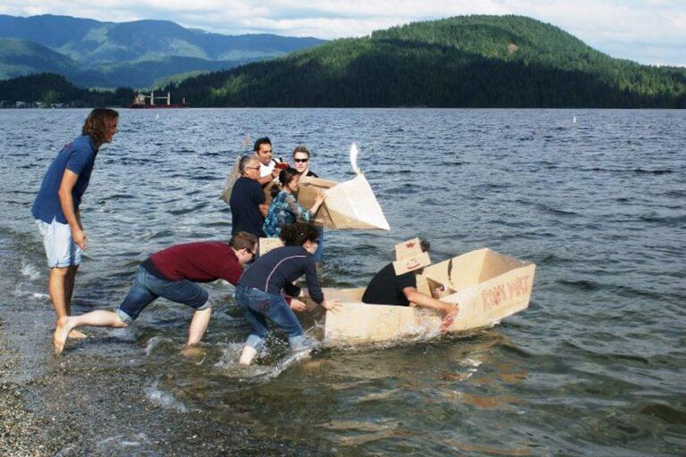 teck cardboard boat building challenge testimonial
