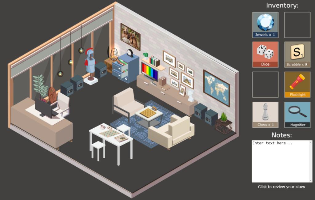 virtual escape room jewel heist screenshot 4 1