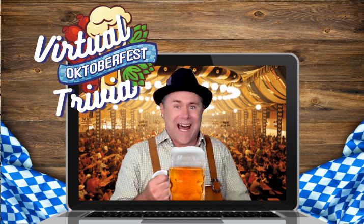 Virtual Oktoberfest Trivia Team Building Hero Image