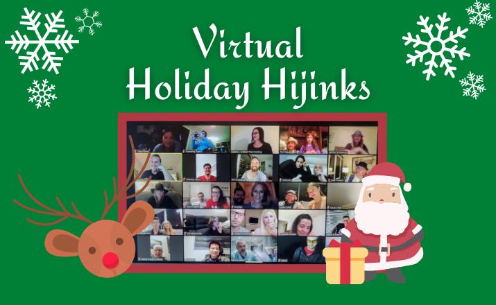 Virtual Holiday Hijinks Header Image