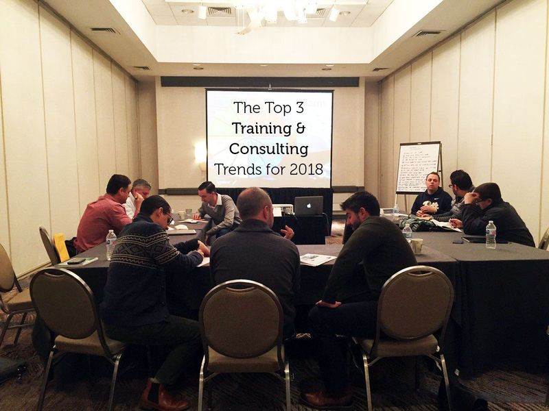 The Top Training and Consulting Trends for 2018