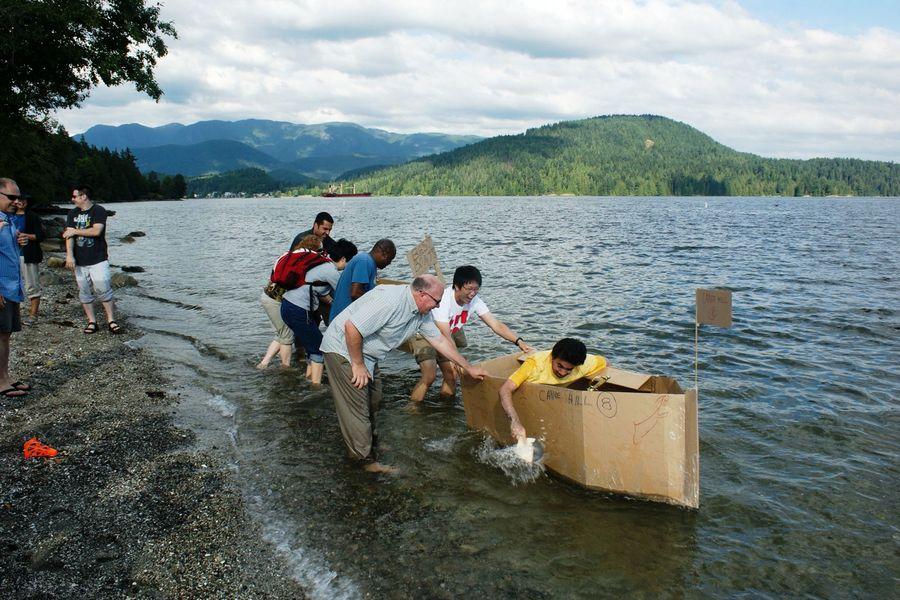Cardboard Boat Challenge 12th Annual Cardboard Boat
