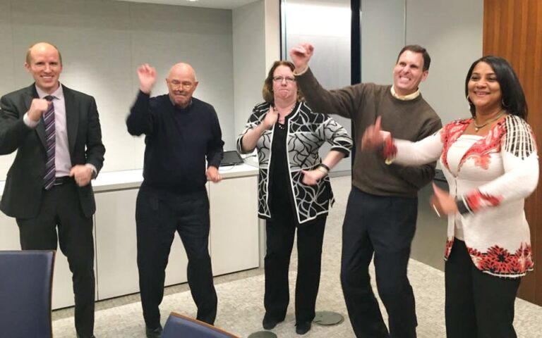 25 team building challenges office morale