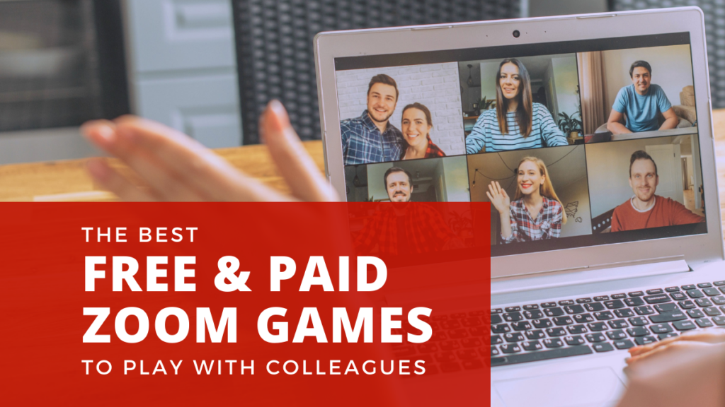 Best Free Paid Zoom Games for Work Header Image