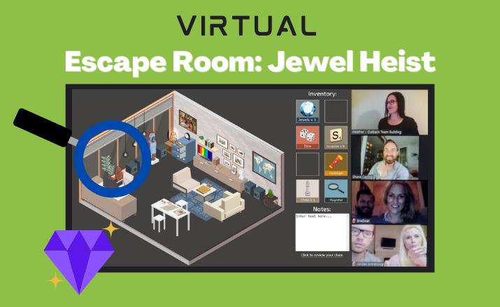 Virtual Escape Room Jewel Heist Header 1