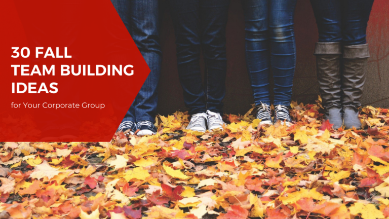 30 Fall Team Building Ideas for Your Corporate Group 2