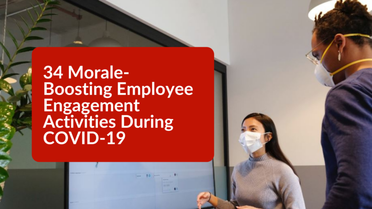 34 Morale Boosting Employee Engagement Activities During COVID 19 1