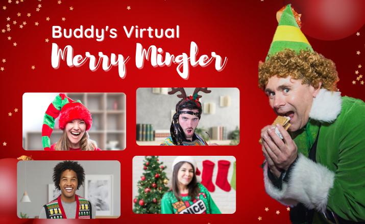 Buddys Virtual Merry Mingler Team Building Activity Header Image 1
