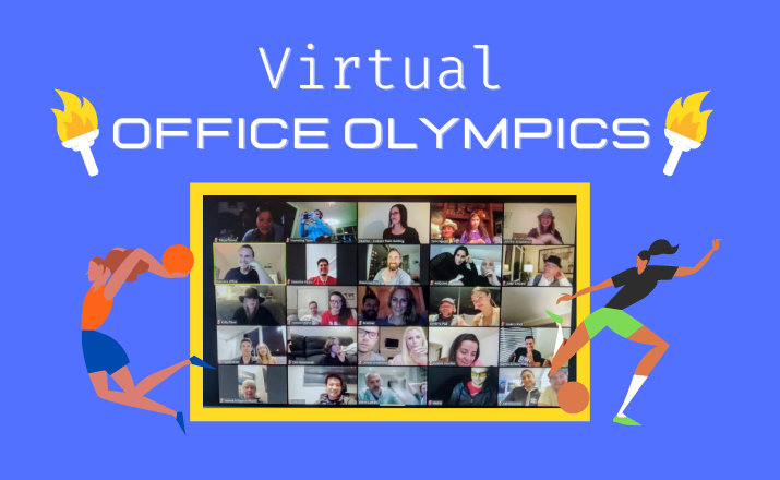 The Virtual Office Olympics are a great team building activity for team spirit during the pandemic