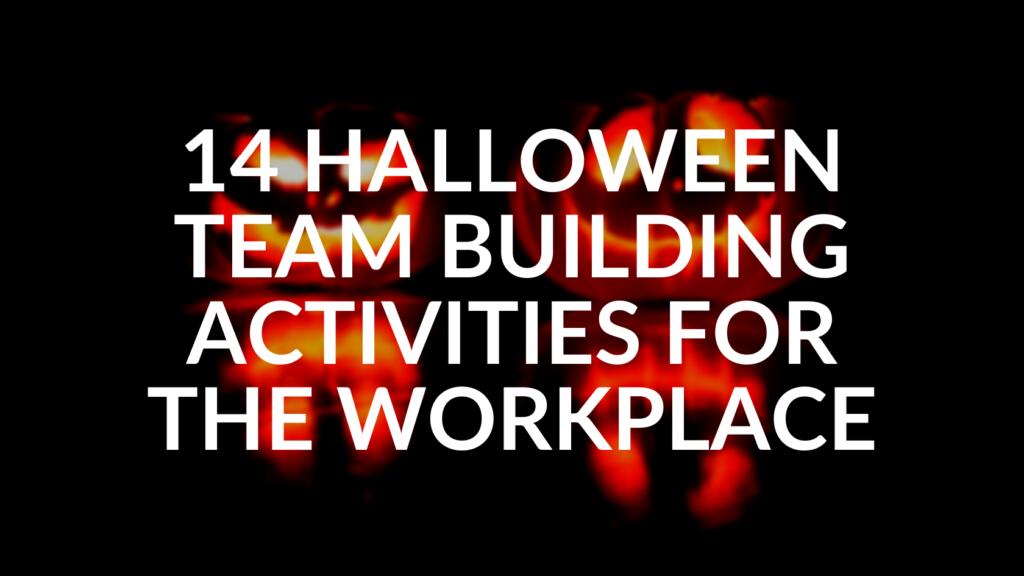 halloween team building activities for work