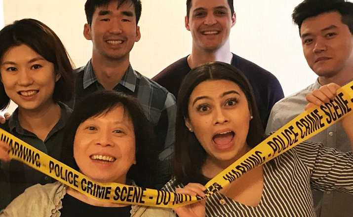 ci the crime investigators is a mysterious indoor team building activity