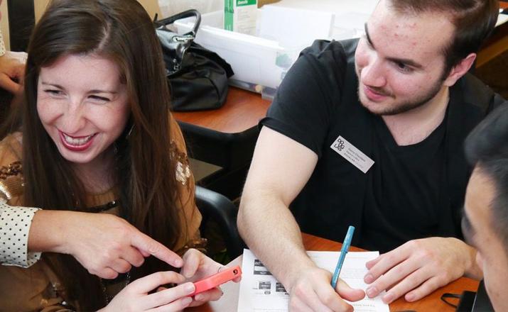 code break is a cerebral winter team building activity